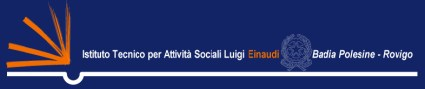 istituto tecnico attivita\' sociali l. einaudi - badia polesine