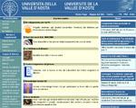 universita\' della valle d\'aosta